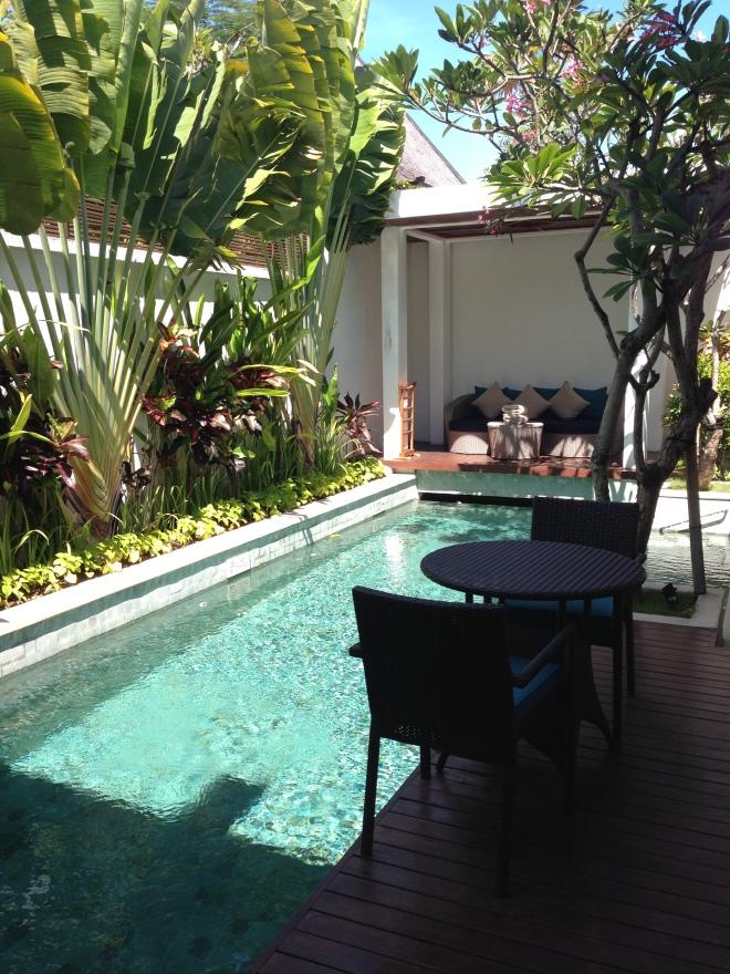Each Villa's Private Pool