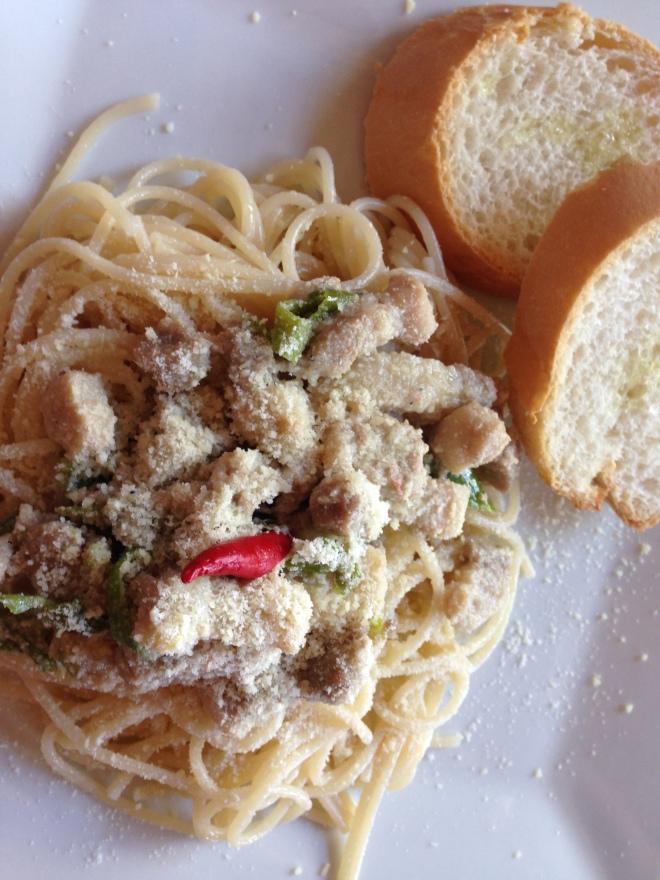 Bicol Express Pasta!!!